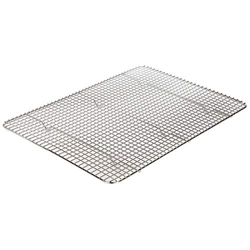 Lily's Home Metal Cooling Rack, Baking Rack, Bakeware for Cupcakes and Cookies, Wire Baking Stand/Tray 100% Stainless Steel, Oven Safe 17 x 12 Inch (Cupcake Baking Rack)