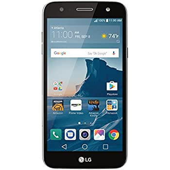 LG X charge - 16 GB – Unlocked (AT&T/Sprint/T-Mobile) - Titanium - Prime Exclusive