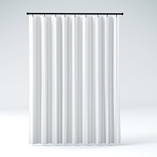 shower curtain for stall shower. STALL Size THE SHOWER CURTAIN LINER Hotel Quality Mildew Resistant Washable  Fabric Water Repellent Elegant White Tonal Damask Stripe Eco Friendly Stall Shower Curtain Amazon com