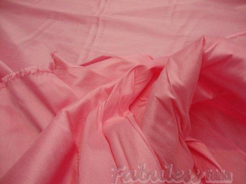 Bubble Shantung (Bubble Gum Shantung Dupioni Faux Silk Fabric Per Yard)
