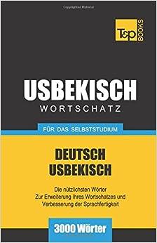 Book Usbekischer Wortschatz für das Selbststudium - 3000 Wörter