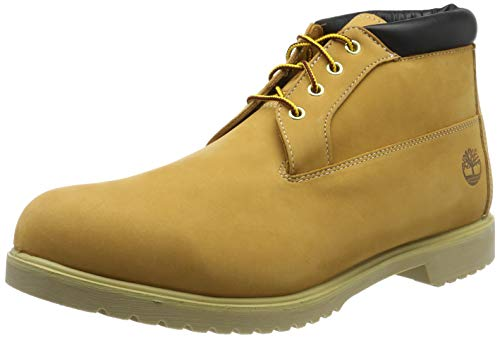 Timberland Mens Premium Waterproof Chukka Wheat Nubuck - 9 2E US
