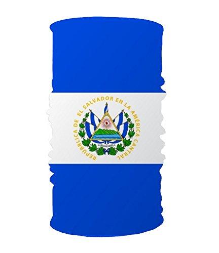 Salvador Ladies El (Headband Flag El Salvador Flat Headwear Sport Sweatband Yoga Head Wrap For Men Women)