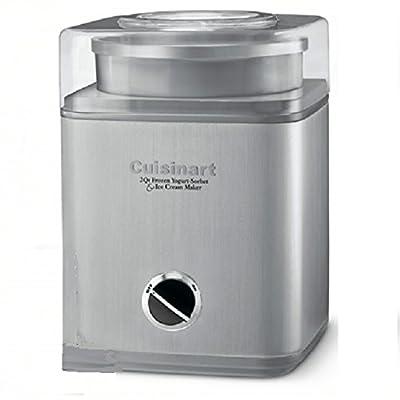 Cuisinart Pure Indulgence 2-Quart Frozen Yogurt-Sorbet & Ice Cream Maker ICE-30BC