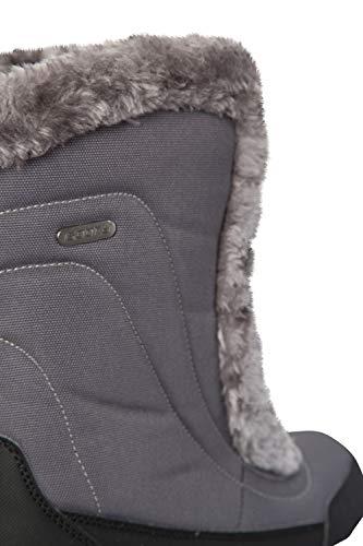 Doposci Ideali Stivali Invernali Neve da per Grigio e Impermeabili Caldi Donna Warehouse Mountain Ohio e OqBU1w