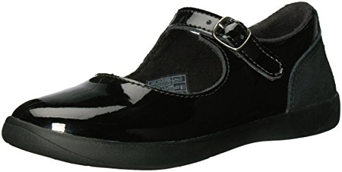 UGG Girls K Dorothea Mary Jane, Black, 2 M US Little Kid