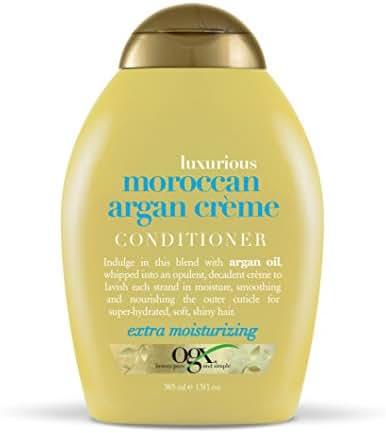Shampoo & Conditioner: OGX Moroccan Argan Crème