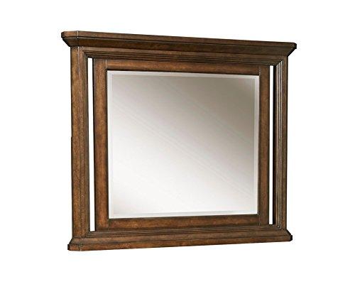 Broyhill Estes Park Dresser Mirror, (Dark Oak Mirror)