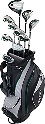 "Top-Flite Golf Boys Teen Varsity Complete Club Box Set Right Hand 60"" and up 13+"