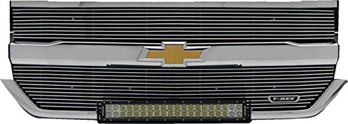 T-Rex 6211270 Laser Billet Series Polished Grille Chevrolet Silverado 1500
