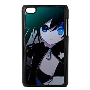 Black Rock Shooter For Ipod Touch 4th Csae protection phone Case ST067636