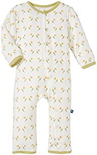 KicKee Pants Baby-girls Infant Print Ruffle Coverall