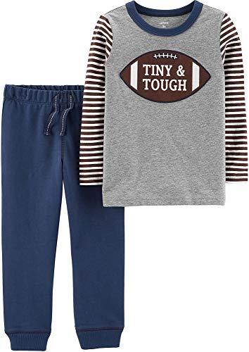 Boutique Clothes For Boys (Carter's Boys' 2 Piece Sets (12 Months, Football)