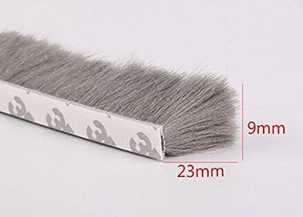 Brush Tape Pile Weatherstrip Self Adhesive Sealing Strip Door and window seal
