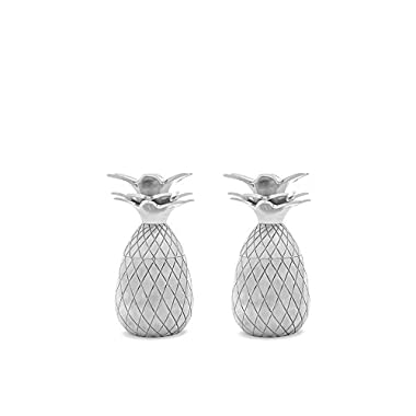 The Pineapple Shot Glasses, Silver