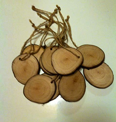 Wood Hangtags, Rustic Wedding Decor, Gift Tags