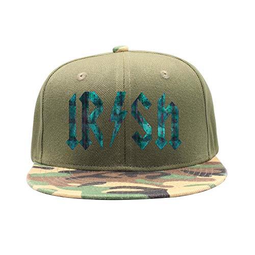 - MADYI Vintage Cool Irish Rockstar Adjustable Hip Pop Mesh Trucker Hat Baseball Cap Snapback