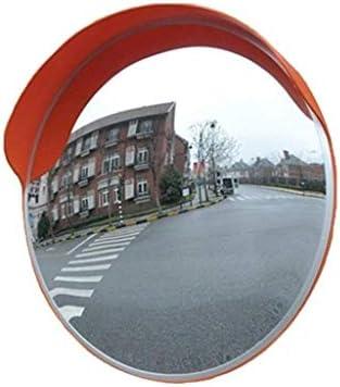 Geng カーブミラー 屋外ハイウェイレンズ舗装小型ポータブル安全ミラーワイドアングル道路広角レンズ凸面鏡を回します