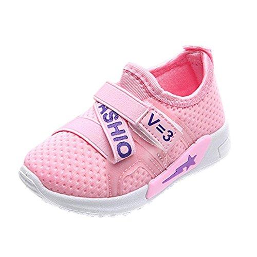 Clode® Neue Art und Weisebaby beiläufige Turnschuhe Sport Schuhe im Freien laufende Schuhe Rosa