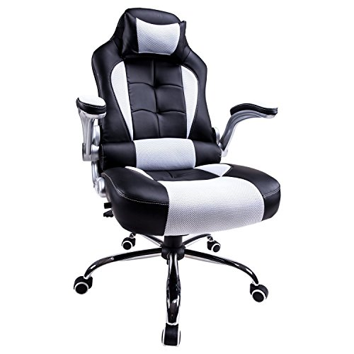 Office Chair Swivel Chair Gaming Racing Recliner High Back