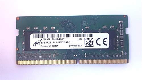 Micron 8GB DDR4 PC4-2400T 260pin So-Dimm Laptop Memory MTA8ATF1G64HZ-2G3B1 ()