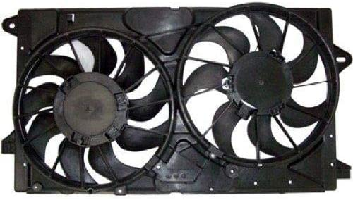 Radiator Fan Assembly For 2014-2016 Chevy Impala Limited 2015 N522PK