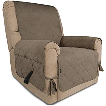 Amazon Com Ameritex Recliner Chair Cover With Anti Skip