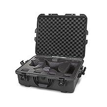 Nanuk 945 Waterproof Hard Drone Case with Custom Foam Insert for DJI Phantom 4/ Phantom 4 Pro (Pro+) / Advanced (Advanced+) & Phantom 3 - Graphite