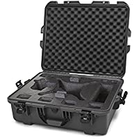 Nanuk DJI Drone Waterproof Hard Case with Custom Foam Insert for DJI Phantom 4/ Phantom 4 Pro (Pro+) / Advanced (Advanced+) & Phantom 3 - 945-DJI47 Graphite
