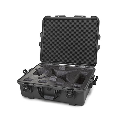 Nanuk DJI Drone Waterproof Hard Case with Custom Foam Insert for DJI Phantom 4/ Phantom 4 Pro (Pro+) / Advanced (Advanced+) & Phantom 3 - 945-DJI47 Graphite by Nanuk
