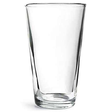 3d23830bfee0 Professional Boston Cocktail Shaker Glass 16oz | Boston Glass, Shaker Glass,  Mixer Glass - Fits 28oz Boston Shaker Tins: Amazon.co.uk: Kitchen & Home