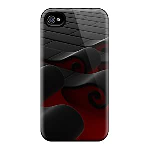 Hard Plastic Iphone 6 Cases Back Covers,hot 3d Waves Cases At Perfect Customized