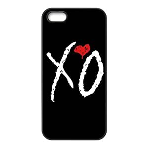 Noar-Diy DIY Hard Snap-on Backcover case cover for Iphone 5,5s- The Weeknd LsNT25Yi1Yn XO