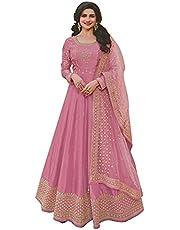 Heni Fashion Ready To Wear Indian/Pakistani Bollywood Party Wear Wedding Wear Long Anarkali Gown Suit for Womens