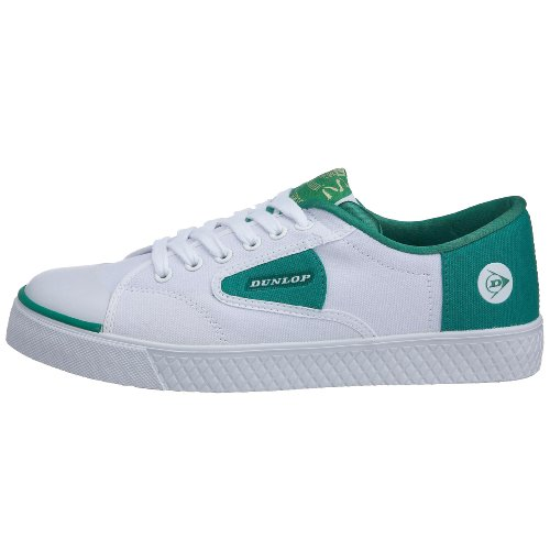 Amazon.com: Dunlop Green Flash Canvas Trainers (Laced) - White/Green - US-13: Shoes