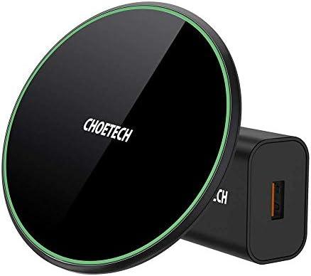 CHOETECH Cargador Inalámbrico Rápido, Wireless Charger 15W [Con ...