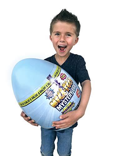 "Mega-Egga Toys Ultimate Surprise Giant Mystery Egg - Blue Color 15"" Jumbo MegaEgga"