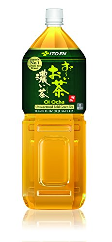 New Ito En Unsweetened Green Tea , 67.6-Ounce (Pack of 6)