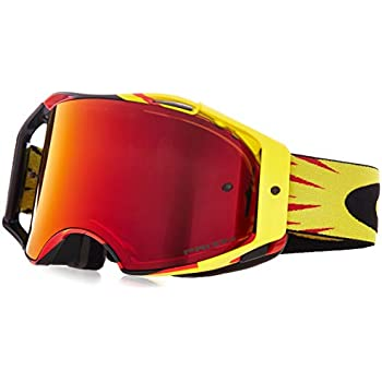 c94a246eaefc0 Oakley Airbrake MX Adult Off-Road Motorcycle Goggles Eyewear - High Voltage  Red Prizm Mx Torch One Size Fits All