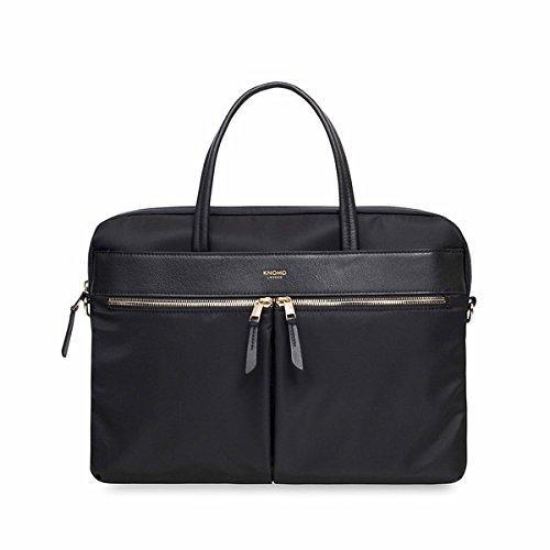 Knomo Laptop Bags (Knomo Luggage Women's Hanover Briefcase, Black, One Size)