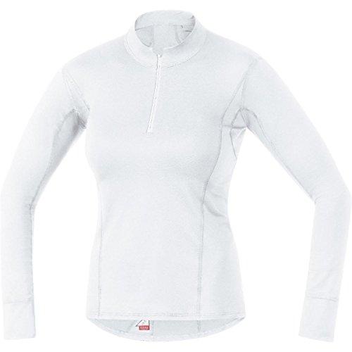 Gore Running Wear Femme, Sous-vêtement, Maillot de course à manches longues, col roulé, GORE Selected Fabrics,ESSENTIAL BL LADY, UEWTNL
