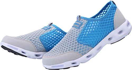 blue Sommer Top Freizeit Low Turnschuhe Laufschuhe Schuhe Gaatpot Running Grau Sandalen Sneakers Damen Outdoor Sportschuhe Herren 0SHZqxFvw