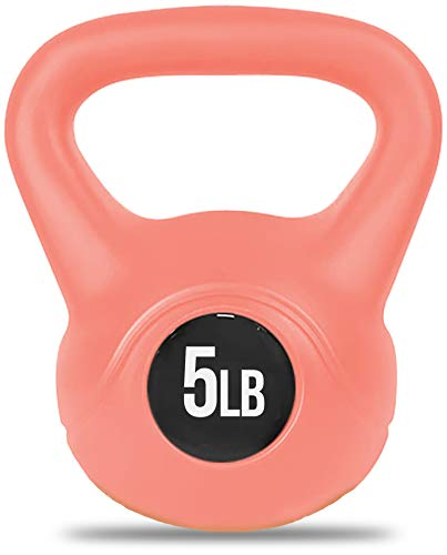 Nicole Miller Kettlebell Weight with Durable Coated Material