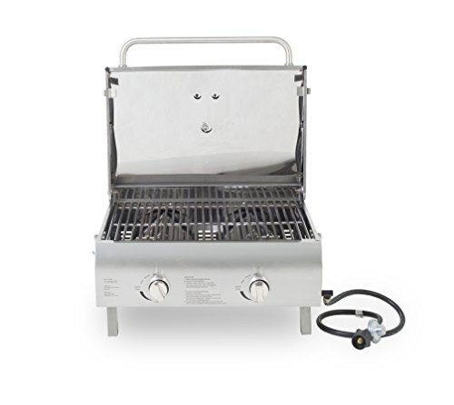 Pit boss grills stainless steel two burner portable