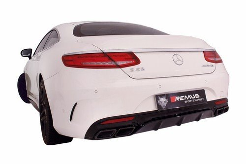 Remus 509515 0500LR Performance Cat-Back Exhaust System - Remus Cat Back System