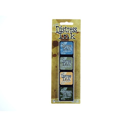 Ranger Distress Mini Ink Kit, 9 TDPK-40392