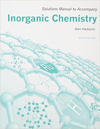 huheey inorganic chemistry solutions pdf