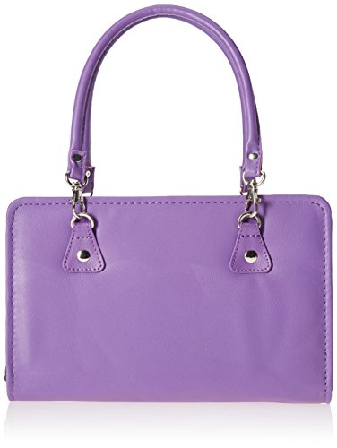 Knitter's Pride Thames Faux Leather Bag, Purple by Knitter's Pride