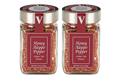 Honey Aleppo Pepper 2 Pack - Sweet, mild heat. Adds a unique flavor dimension.