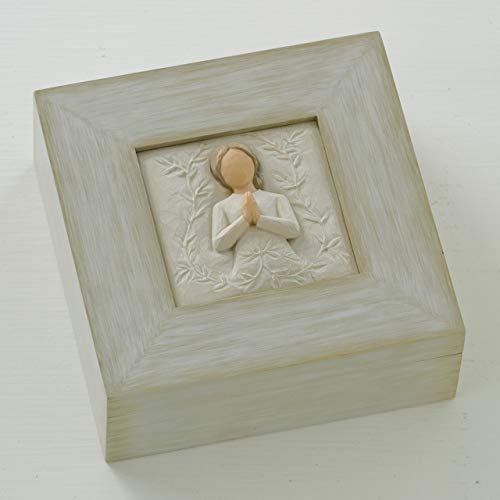 Willow Tree a tree, a prayer , sculpted hand-painted memory box -